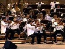 The North Carolina Symphony performs at Pops in the Park.