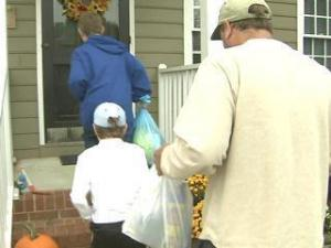 Apex Residents Return Home