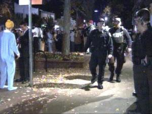 Chapel Hill Halloween Police