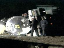 A section of Interstate 95 in Cumberland County is back open after a tractor-trailer accident.