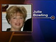 Julie Bowling, 45, was found dead inside the garage of her Rocky Mount home on Dec. 8. She had been shot to death.