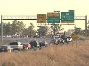 Good Weather for Paving Is Bad Break for Holiday Shoppers and Others on I-540