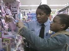 Kids Join Raleigh Police for 'Shop With a Cop'
