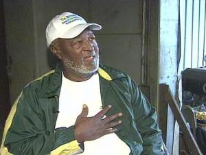 """Moses Mathis received a presidential """"Call to Service"""" award for his 15 years of lining up and fixing up bikes for needy kids in Cumblerland County."""