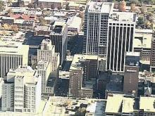 Sky 5 View of Downtown Raleigh