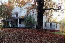 Fire Monday destroyed a historic home with ties to a 19th-century effort to educate poor and orphaned black children.