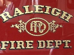 Raleigh Fire Sign
