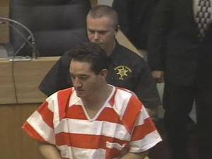 John Violette remained silent Wednesday as he appeared in court to face murder charges in connection with his 4-year-old daughter's death.