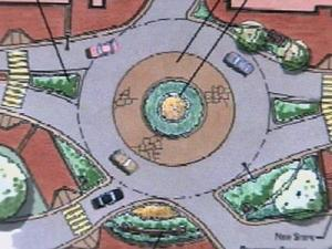 Proposed Hillsborough Street Roundabout