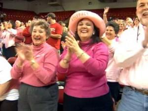 Breast Cancer Survivors Celebrate Yow's Return
