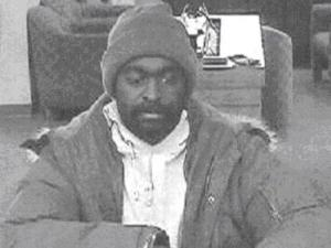 Police believe this man is responsible for a bank robbery that occurred on Jan. 19.