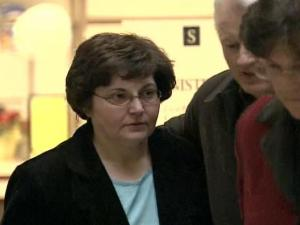 Anita Copeland was charged with embezzling funds from Ridge Road Baptist Church, where she was a secretary.