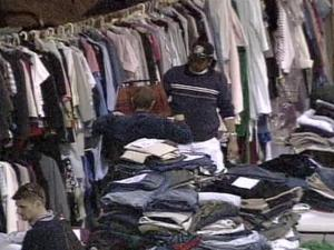 Enough goods for 250 families were donated to help the people made homeless by last week's Pine Knoll Townes fire in north Raleigh.