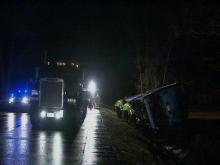 WEB ONLY: Bus and truck crash in Halifax County (unedited)