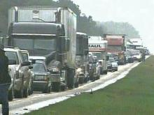 Part of I-95 Closed Until Saturday After Gasoline Spill