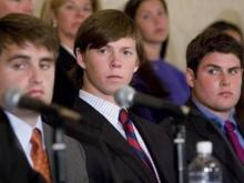 State prosecutors on Wednesday dismissed all charges against the three defendants in the Duke lacrosse sexual assault case.