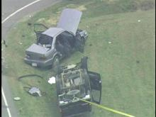 A Two-car crash at Howard Mill Road and N.C. 42/22 on Thursday, April 19, 2007, reportedly killed one person and injured two others.