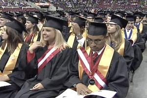 The largest graduating class ever at N.C. State received their diplomas Saturday.