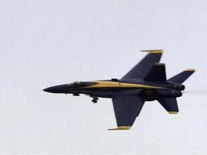 Blue Angels Fly Proud at Wings Over Wayne