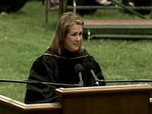WEB ONLY: Elizabeth Edwards Addresses Meredith Graduates