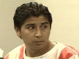 Marcos Cabrera of Raleigh was arraigned Monday, May 14, 2007, on charges stemming from an incident after a three-fatal accident.