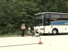 Driver Charged After Hitting School Field-Trip Bus
