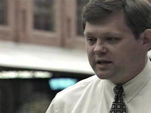 Durham City Council member Mike Woodard