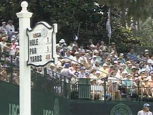 Fans enjoyed the sunny weather on the last day of the U.S. Women's Open on July 1, but officials worried that earlier rain had dampened attendance and profits.
