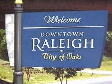 A Sign That Raleigh Wants Tourists