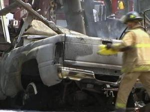 1 Dead, 5 Injured in Fiery Tractor-Trailer Accident