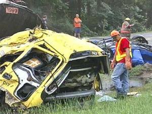 Neighbors: Rain Often Caused Crashes on Johnston Highway