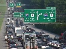 Severity of I-40/440 backups to depend on lane closures