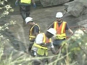 Broken Pipe Spills Sewage Into Perry Creek