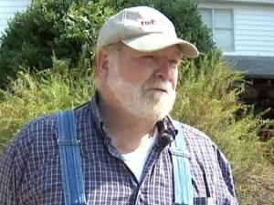 Carey Hunter says recent soil testing on his Apex land for a future extension of Interstate 540 has caused problems with his well water - so much so that the state Turnpike Authority has provided him with bottled water until the problem is fixed.