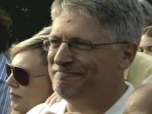 Upon his release from jail Saturday, Sept. 8, 2007, former Durham District Attorney Mike Nifong thanked jailers for their professionalism after serving his one-day sentence.