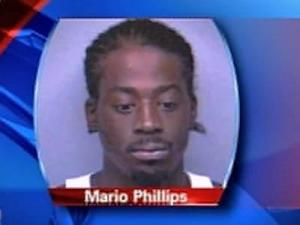 Mario Phillips pre-pro shot, charged in Moore Co. quadruple homicide