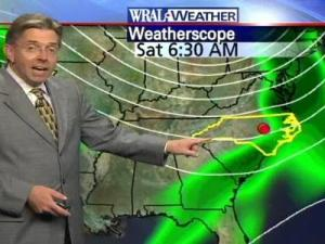 Rain was expected to reach the Triangle on Friday, but not enough to seriously reduce the area's deficit.