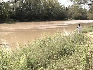 Last week, the Neuse River was less than 2 feet deep in places.