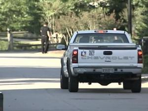 City workers are helping enforce water restrictions in Raleigh.