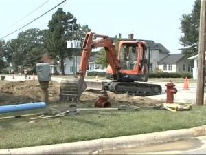 Council members said work crews must turn the water off completely while replacing the valves.