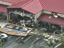 Clayton Restaurant Cooking Again After Plane Crash