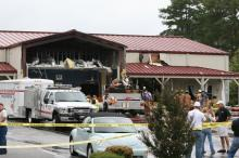 Images from the Clayton Plane Crash Scene