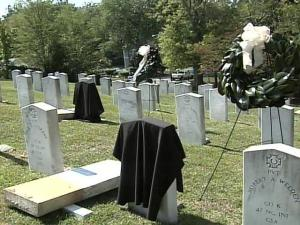 The graves of three unknown soldiers from the Civil War were recently identified.
