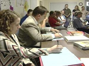 Rolesville residents against Averette Farms voiced their concerns Monday night at the Board of Commissioners meeting.