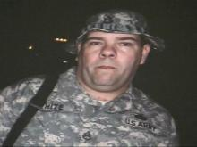 Staff Sergent Norbert White, is serving in Afghanistan with the 82nd Airborne 4th Brigade Combat Team.