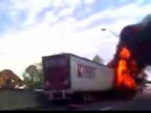 Cameras Phone Image of I-85 Head-On Crash