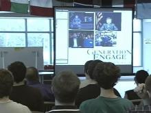 Wake Tech Holds Presidential Candidates iChat