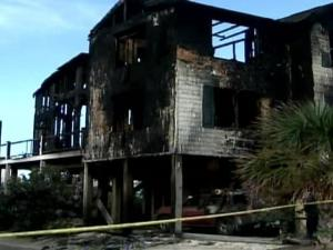 Seven college students were killed in a fire at 1 Scotland St. at Ocean Isle Beach, N.C.