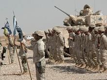 The National Guard's 30th Brigade Combat Team during Operation Iraqi Freedom.
