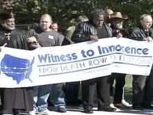 Exonerated Inmates Protest Death Penalty